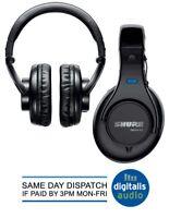 Shure SRH440-EFS Professional Closed Back Studio Monitoring Headphones