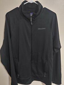Patagonia Size Large Black Polartec Full Zip Pullover