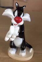 Figura Plástico Gato Sylvester 10cm de agostini Warner Looney Tunes