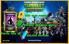 Teenage Mutant Ninja Turtles Legends game Android iOS Bucks Mutagen Warp epic