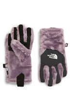 The North Face Denali Youth Thermal Plush Fleece Etip Gloves Purple Small NWT