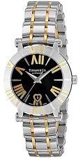 Tiffany Tiffany & Co. Watch Atlas Black Dial K18yg / SS Case Self-winding Z130
