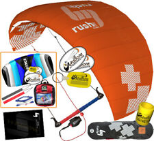 HQ4 Rush V Pro 350 3.5M Trainer Kite Kiteboarding Snow Power Foil + 2ND CX Kite