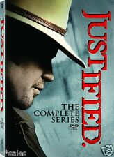 Justified Complete Series Season 1-6 (1 2 3 4 5 & 6) BRAND NEW 19-DISC DVD SET