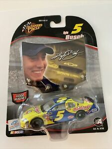 2005 #5 Kyle Busch Kellogg's Rookie Car 1/64 Winners Circle NASCAR Diecast