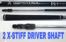 M1 M2 R15 SLDR Driver SHAFT BiMatrx 2X Stiff Low Spin Bubba Watson uses Bi Matrx