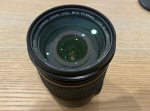 Canon EF-S EFS 17-55mm f/2.8 F2.8 IS USM Lens, HARDLY USED, Incl. Filter.