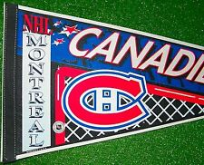 "Older Montreal Canadiens Pennant 30"" NHL Hockey - Excellent Ships Fast"