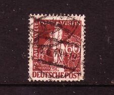 GERMANY -Berlin....  1949  U.P.U.  60pf brown used