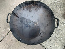 More details for large commercial cooking kadai karahi fire pit bowl? - used condition