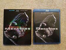 Predators (+ Digital Copy) Blu-ray- w slipcover.