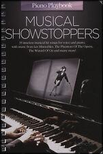 Estrategia de Piano Musical Showstoppers Libro De Partituras