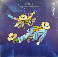 "TRAFFIC ""SHOOT OUT AT THE FANTASY FACTORY"" lp Italy reissue near mint"