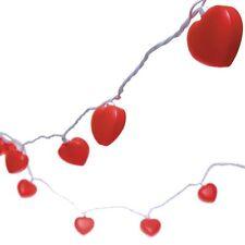 Valentine's Day Heart Shaped Novelty LIght String Set Decoration