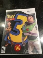 TOY STORY 3 (NINTENDO WII) Brand New Factory Sealed