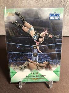 2020 Topps WWE Undisputed Alexa Bliss Green Parallel 49/50