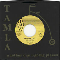 "THE MIRACLES  ""WAY OVER THERE (WITH STRINGS)""  STUNNING EARLY MOTOWN  LISTEN!"