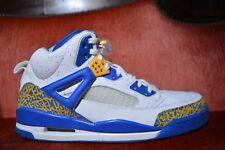 Nike Air Jordan SPIZIKE DTRT DO THE RIGHT THING WHITE RED GOLD ARGON BLUE 15