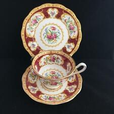 ROYAL ALBERT TRIO LADY HAMILTON cup saucer and plate VINTAGE
