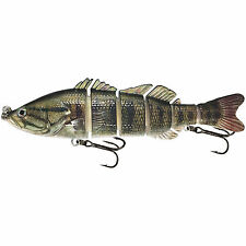 """KDS Custom Slow Sinking Jointed 6"""" Multi Section Swimbait - Real Smallmouth Bass"""
