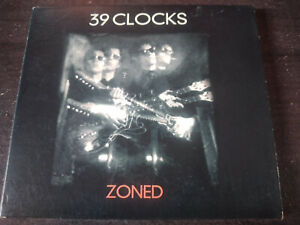 39 CLOCKS - Zoned CD New Wave / Psychedelic Rock