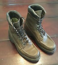 Lake of the Woods Mens Leather Green Boots size 7.5