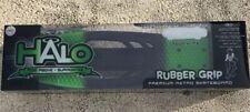 Halo Rise Above Rubber Grip Premium Retro Skateboard Green and Black New in box