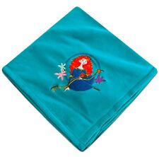 NEW Disney Brave Merida Embroidered Super Soft Warm & Fuzzy Fleece Throw Blanket
