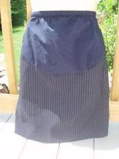 MOTHERHOOD MATERNITY Black Pinstripe Skirt~L~NWT!