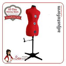Dressmakers Mannequin Size 10-16 Dummy Adjustable Dress Form Mannequins Sewing