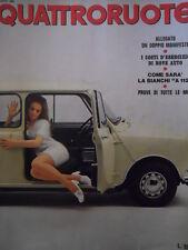 Quattroruote 164 1969  - Test Prove di tutte le Mini - Bianchi A 112   [Q31]