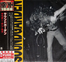 SOUNDGARDEN - LOUDER THAN LOVE, 2018 JAPAN LIMITED EDITION CD + OBI, SEALED!