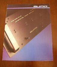 SUMO - Catalogo generale - Anno 1987 - MOLTO RARO !!!
