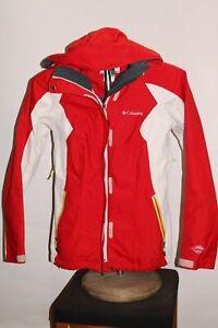 COLUMBIA Interchange Womens XS X-Small hooded Snowboard/snow Jacket