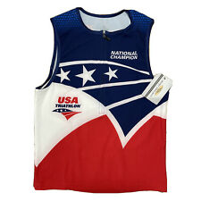 New listing Rudy Project Triathlon Shirt Mens Size Xl National Champion 2016 Half Zip New