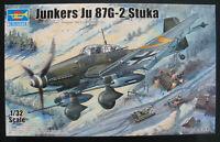 TRUMPETER 03218 - Junkers Ju 87 G-2 Stuka  1:32 Flugzeug Modellbausatz Model Kit