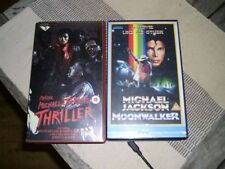 Michael Jackson Music & Concerts VHS Tapes