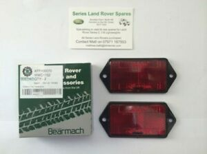 Land Rover Series & Defender Bearmach Rear Reflectors OEM X 2 MWC1722