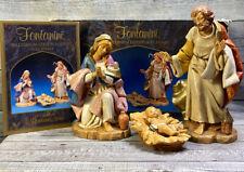 Fontanini Millennium Edition Holy Family Mary Joseph & Baby Jesus By Roman Inc