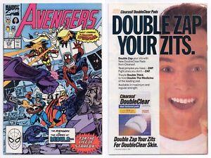 Avengers #316 (NM/MT 9.8) Spider-Man Joins the Avengers Thor Vision 1990 Marvel
