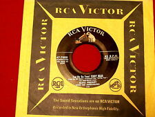 ELVIS PRESLEY~TEDDY BEAR~RARE~WITH LINES~LOVING YOU~RCA~47-7000 ~ 45