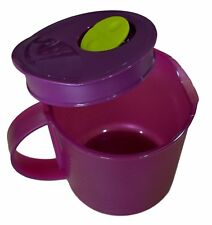 Tupperware 1 Liter Pitcher Crystal Wave Microwave Utensils / Container Free Ship