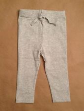 NWT Gymboree Girls Layette Basics Gray Pants Size 12-18 M