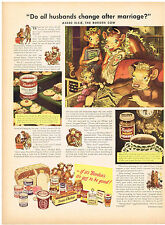 Vintage 1947 Magazine Ad Borden's From Eagle Brand Condensed Milk To Coffee