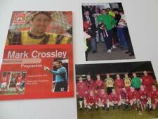 More details for nottingham forest fc mark crossley rare testimonial programme 2000 + photographs