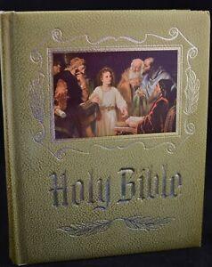 Vintage Masonic Holy Bible Master Reference Edition Heirloom 1971 Red Letter KJV