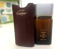 Santos de Cartier Eau de Toilette 30 ML/1 OZ Version 1989 New In Leather Case