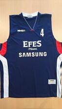 Baloncesto basketball jersey Kaya Peker Efes Pilsen match worn Euroleague