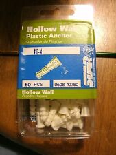 Star Hollow Wall Plastic Anchor #10-14  - 0508-10760 - 50/pk