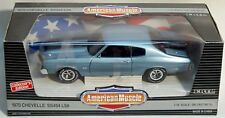 ERTL 1/18 1970 Chevy Chevelle SS LS6 454 Astro Blue Car 7487 NEW American Muscle